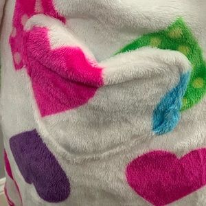 Pajamas - Hooded fleece robe.